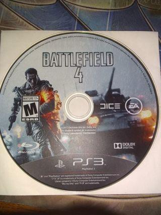 Battlefield 4 PS3 Disk