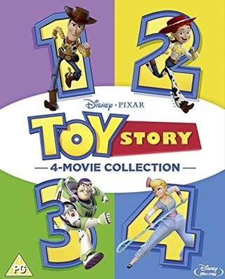 Toys Story 1,2,3,4 HD - 4 Movie Collection - 4 Digital Movie Codes ONLY - Please Read!!!