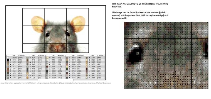 Mouse Cross Stitch Patterns ***WINNERS CHOICE***
