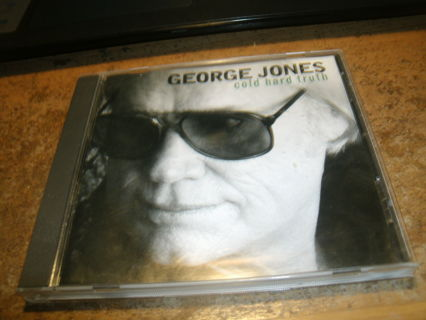 cd-george jones-cold hard truth-1999-country-used-ex