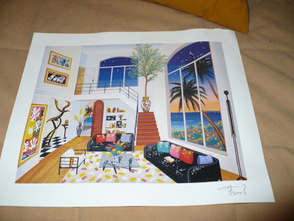 Lot of New West Gallery Fine Art Postera signed artis