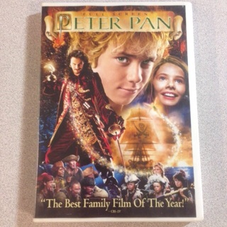 free peter pan full screen dvd movie dvd auctions for free stuff. Black Bedroom Furniture Sets. Home Design Ideas