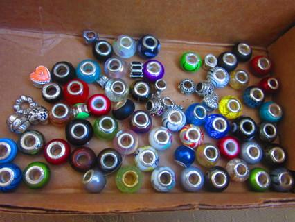 Over 200 Beads, DIY and Charms
