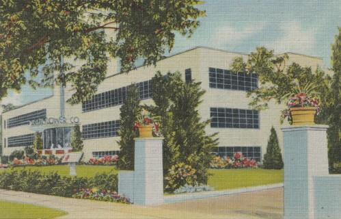 Vintage Unused Postcard: Linen: Calart Building, Providence,RI