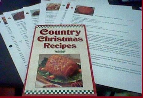 Cookbook and Bonus Recipes.