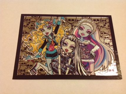 Special Foil 2013 Monster High PANINI sticker #22
