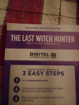 The Last Witch Hunter VUDU Code
