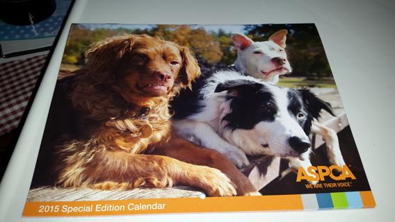 New Special Edition Calendar 2015 ASPCA