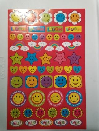 Smile & Laugh Stickers