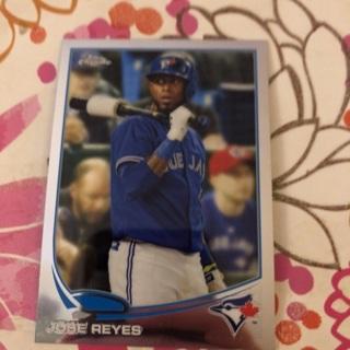 Jose Reyes Trading Card
