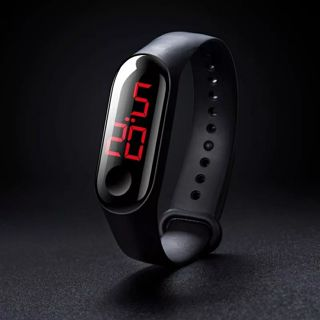Watches Led Electronic Sports Luminous Sensor Watches Fashion Men And Women Simple Waterproof
