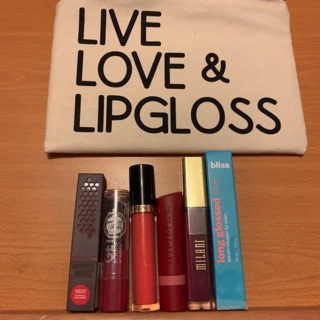Cute New Makeup Bag and a Lippie Lot!!