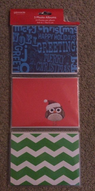 Christmas - 3 Photo Albums - NEW