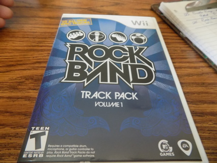 Rock Band Track Pack vol 1 Wii game
