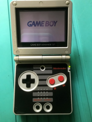 Hard To Find Nintendo Gameboy Advance SP Classic NES Edition Plus 5 Games