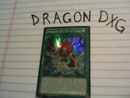 Rare YuGiOh card Forbidden Arts of the Gishki
