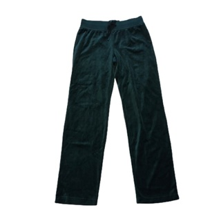 ST JOHN'S BAY Green Velour Pant XS