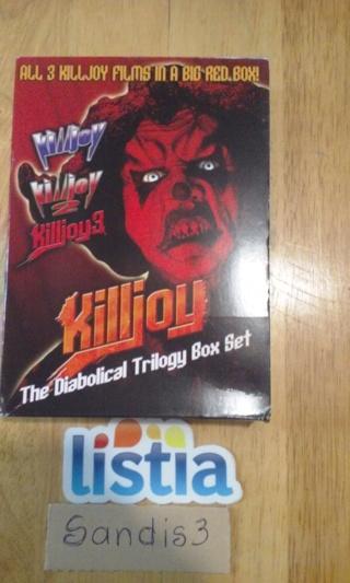 KILLJOY 1.2,&3 BOX SET