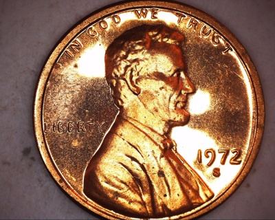 1972 s proof lincoln penny