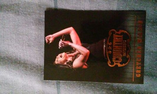 Country music card-Gretchen Wilson