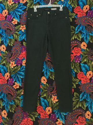 Women's Aeropostale Pants High Waist Jeggings Sz 8 Aeropostale FOREST GREEN Jeans
