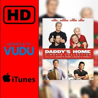 Daddy's Home 1&2 Digital HD movie code MA/VUDU