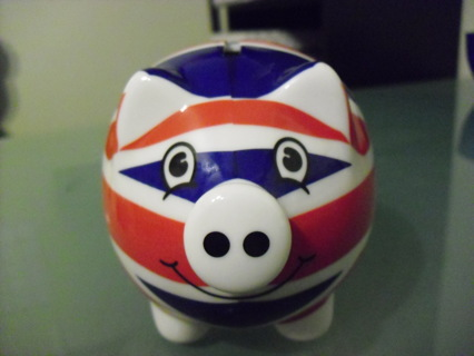 British Union Jack Piggy Bank