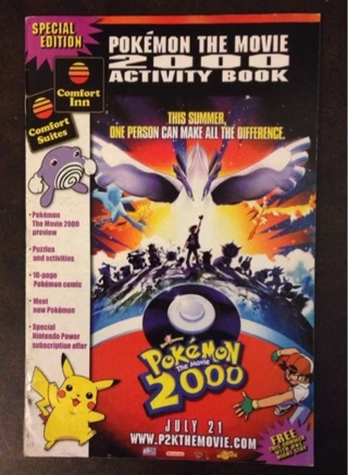Free Nintendo Pokemon The Movie 2000 Activity Book Comic Comfort