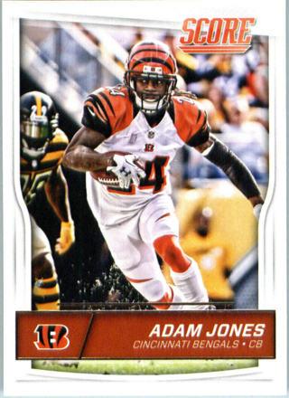 Adam Jones 2016 Score Cincinnati Bengals