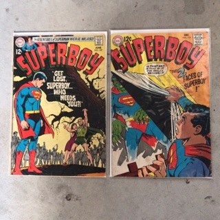 Superboy #152/157 Both 12cent Covers Silver Age