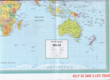 Free: Rand McNally World Map Given by Doctors Without Borders ... on
