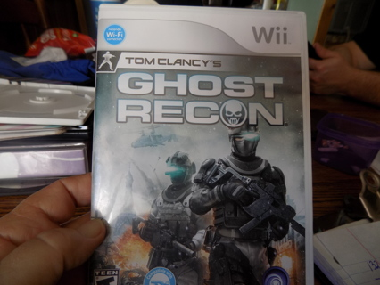 Wii Tom Clancey's Ghost Recon