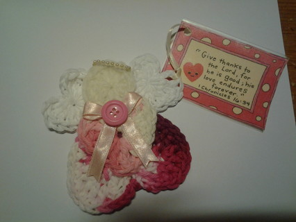 Friendship/Scripture Angel -Free Shipping!!