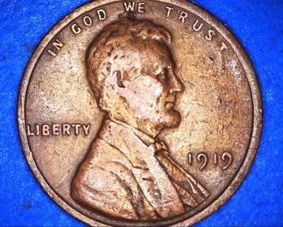 1919 lincoln wheat penny