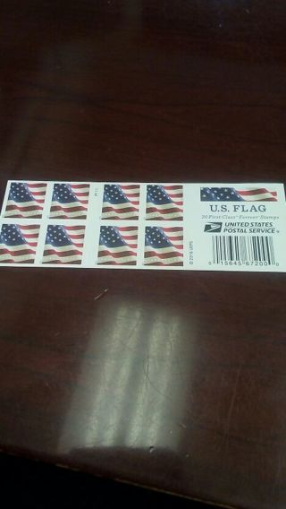 Forever Flag Stamps