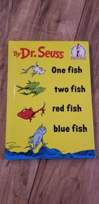 One fish, two fish book