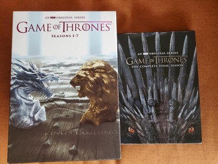 Game of Thrones Complete Seasons 1-8 DVD Open Box