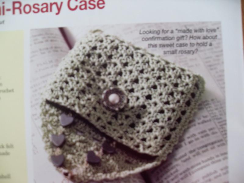 Free Lacy Mini Rosary Case Pattern To Crochet Crochet Listia