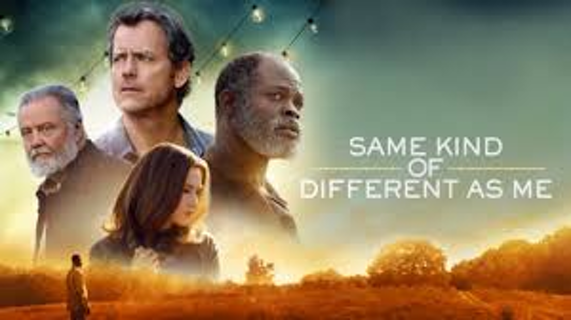 iTunes Same Kind of Different As Me digital movie code USA