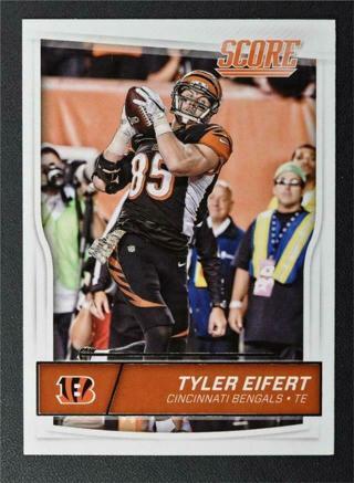Tyler Eifert 2016 Score Cincinnati Bengals