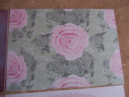 13 Unique Shabby Chic Rose Design 5 x 7 Card Stock