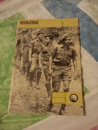 Boy Scouts of America Merit Badge Series Book Hiking