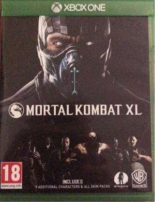 Xbox one game MORTAL KOMBAT XL