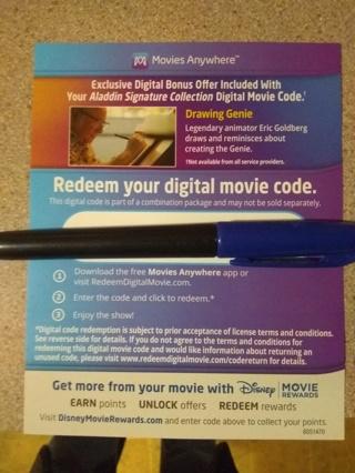 Aladdin-Digital Copy 4k.  DMA and DMR