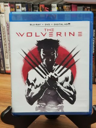 Marvel's THE WOLVERINE ~ Blu-Ray and Original Case (No dvd)