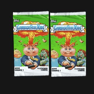(2-Pack) Garbage Pail Kids Cards Series 1 (2014) Packs Unopened Factory Sealed Topps FREE SHIPPING