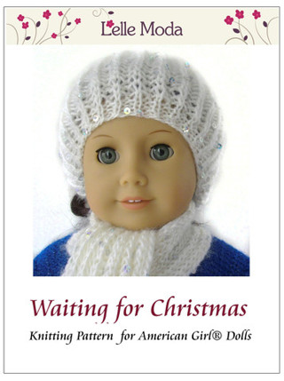 Free American Girl Hat And Scarf Knitting Pattern Knitting