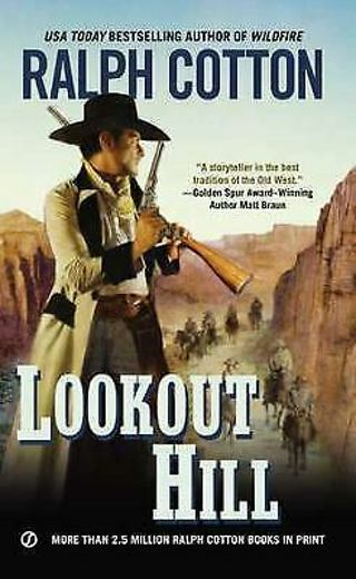 ☆Lookout Hill by Ralph Cotton- Paperback