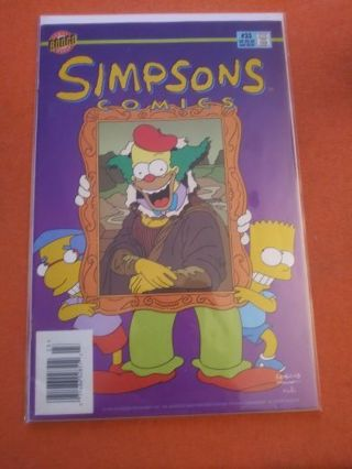 COMIC BOOK: SIMPSONS COMICS #23