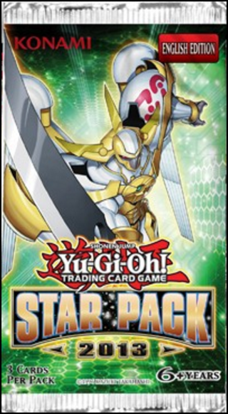 1 YU-GI-OH! STAR PACK 2013 BOOSTER PACK GIN YUGIOH CARDS GAMES HOBBIES CARDS COLLECTIBLES